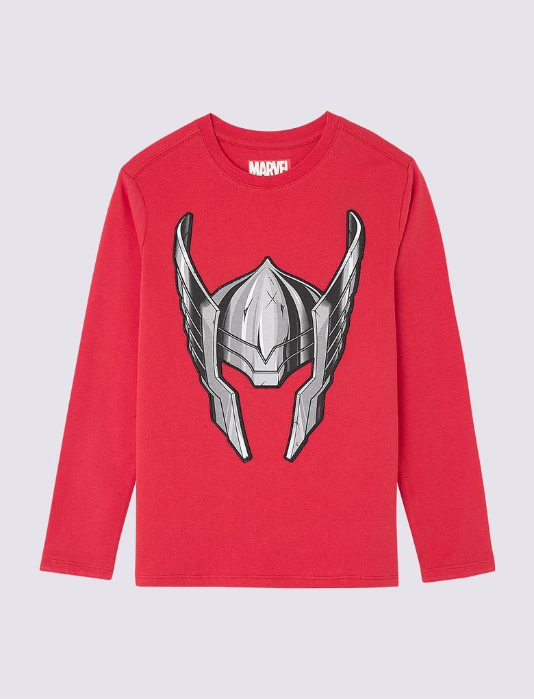 Multi Renk Kısa Kollu Thor T-Shirt