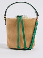 Kadın Multi Renk Kova Formlu Askılı Çanta