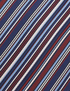 Çizgili Renkli Kravat