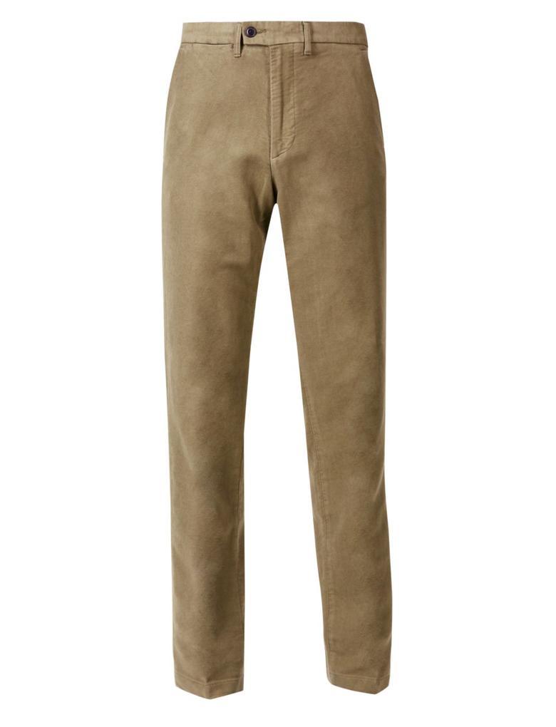 Regular Saf Pamuklu Chino Pantolon