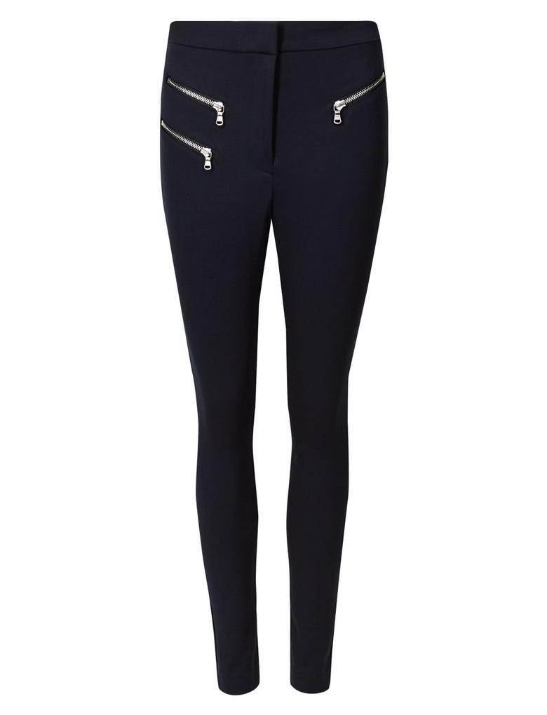 Kadın Lacivert Skinny Leg Pantolon