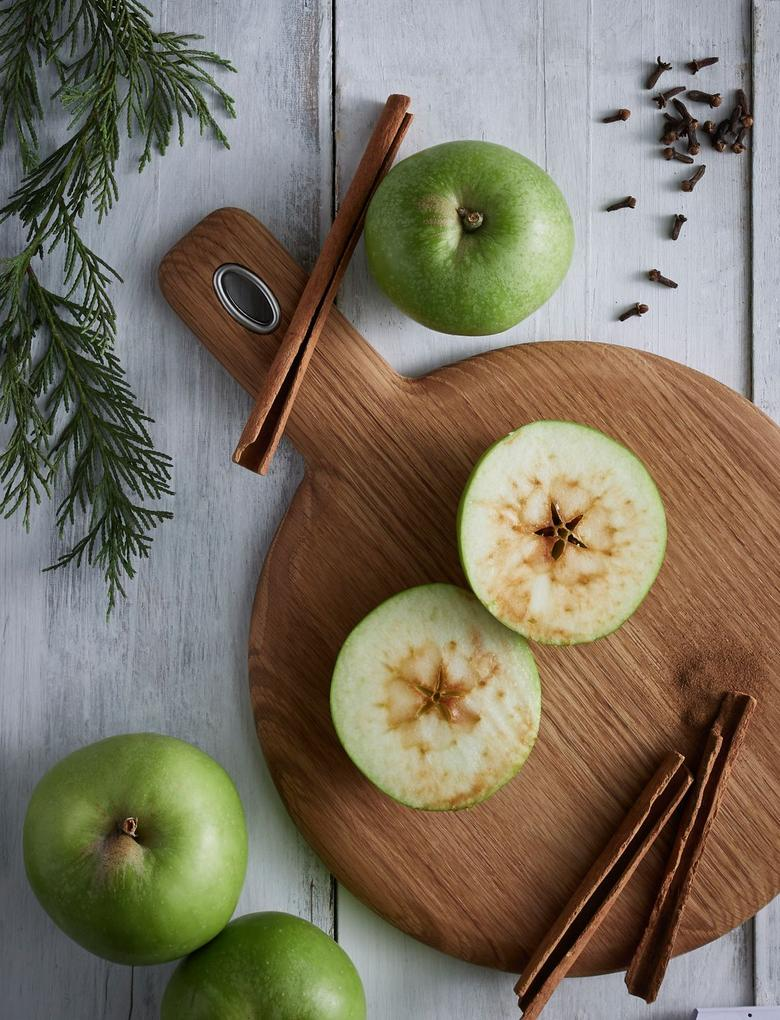 Kış Elması ve Baharat Kokulu 20'li Tea Light Mum Seti
