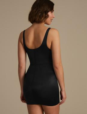 Kadın Siyah Secret Slimming™ Orta Sıkılıkta Kombinezon