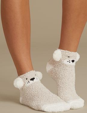 2'li Terlik Çorap Seti