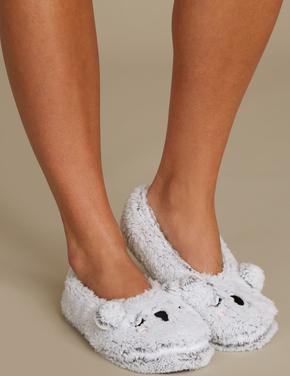 Polar Koala Babet Terlik Çorap
