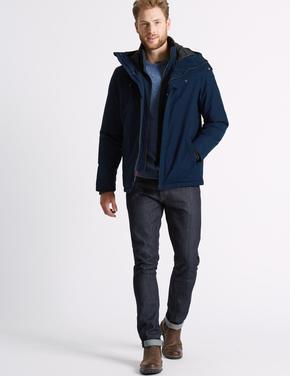 Kapüşonlu Polar Mont (Stormwear™ Teknolojisi ile)