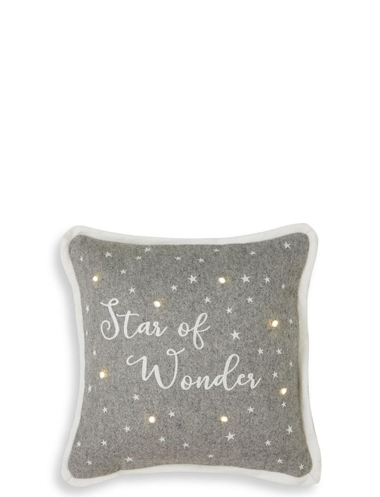 Star of Wonder Işıklı Yastık