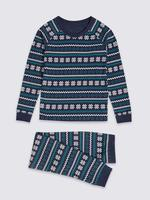 Fairisle Desenli Termal Set