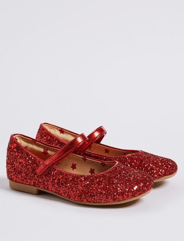 Pırıltılı Babet Ayakkabı