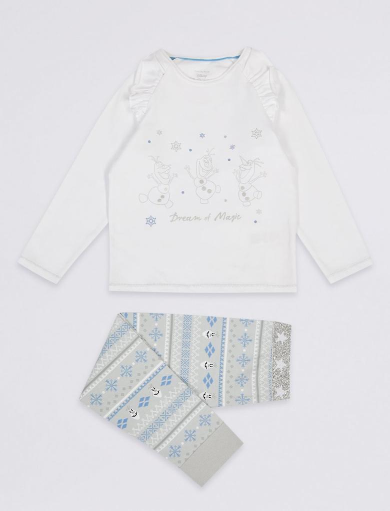 Disney Frozen™Pamuklu Pijama Takımı