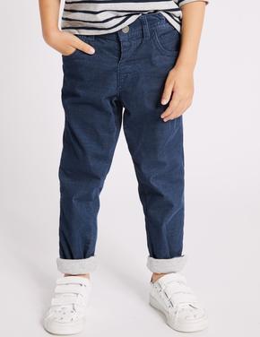 Pamuklu Streç Pantolon