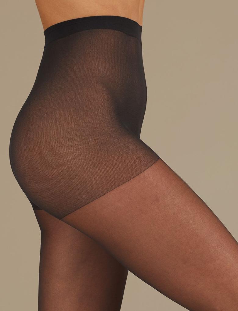 5'li 10 Denye Mat Külotlu Çorap