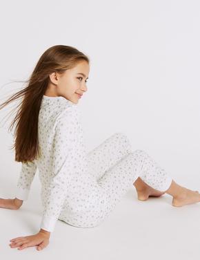 Mavi 3'lü Unicorn Pijama Takımı