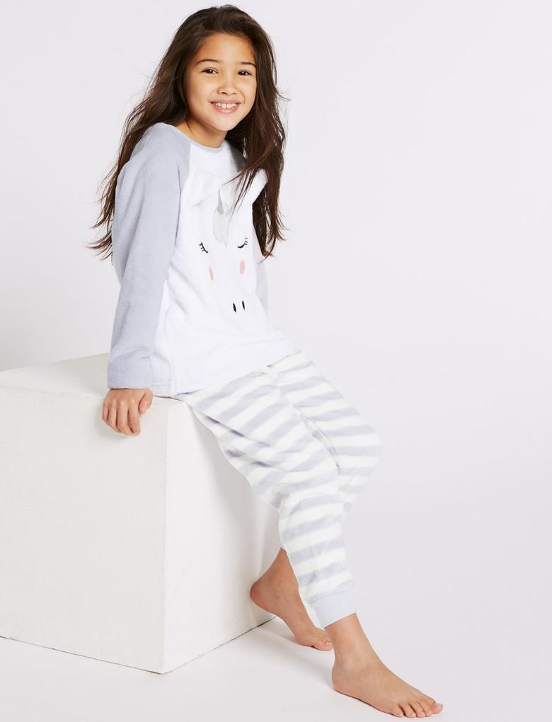Unicorn Polar Pijama Takımı