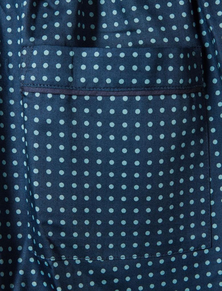 Supima® Pamuklu Desenli Pamuklu Pijama Altı