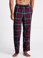 Yumuşak Kumaşlı Ekose Pijama Altı