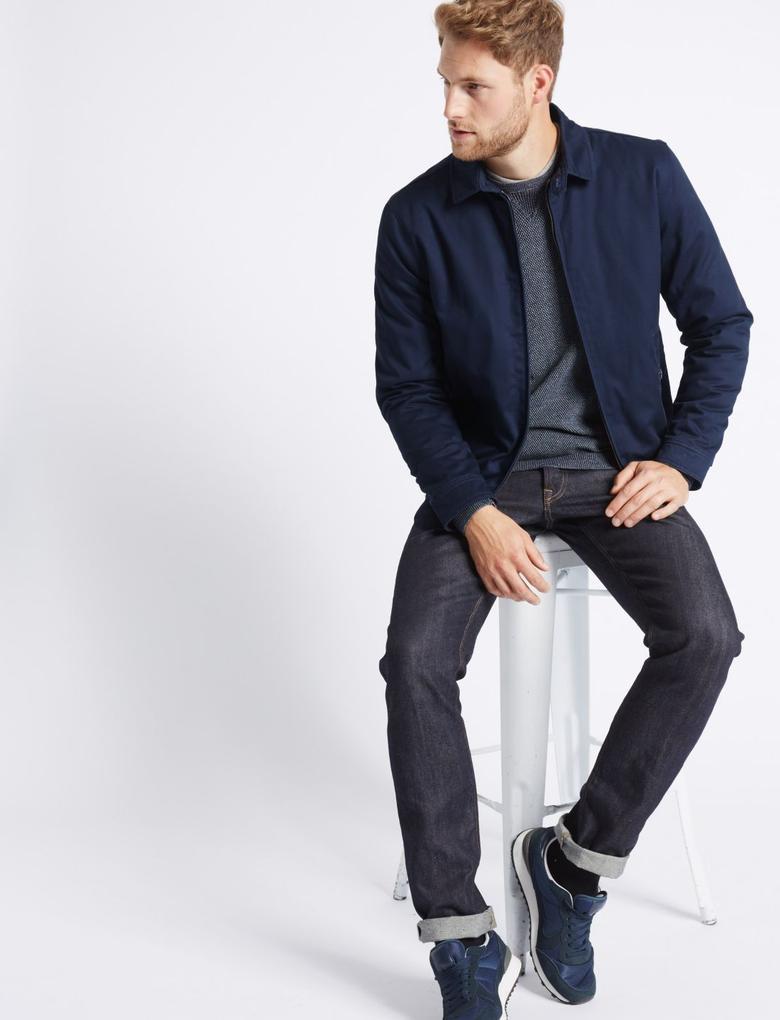 Saf Pamuklu Ceket (Stormwear™ Teknolojisi ile)