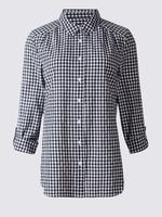 Pamuklu Uzun Kollu Gömlek