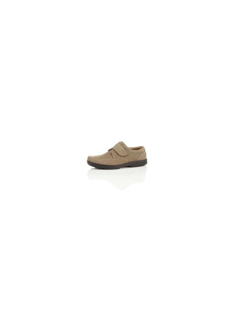Kahverengi Geniş Kalıplı Deri Ayakkabı (Airflex™ Teknolojisi ile)