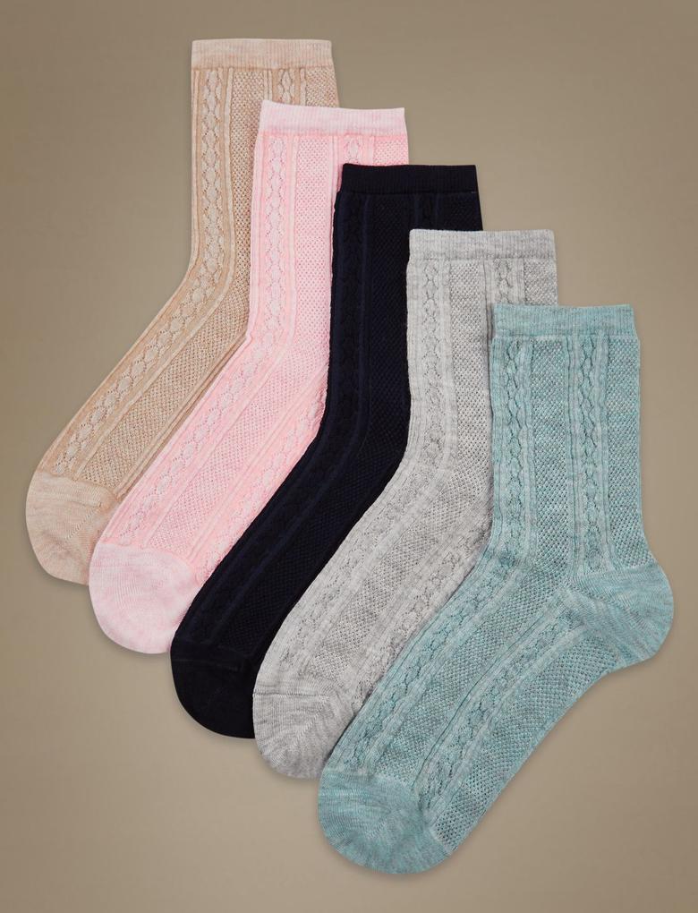 5'li Yumuşak Çorap Seti