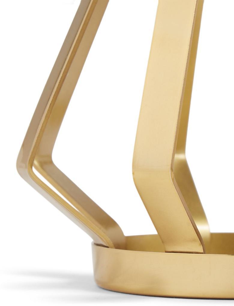 Metal Şeritli Mumluk
