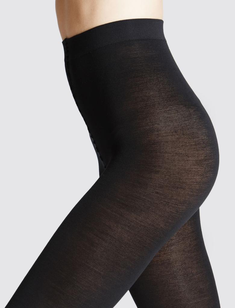 15 Denye Kaçmaya Dayanıklı Parlak Çorap