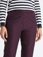 Kırmızı Pamuklu Chino Straight Pantolon