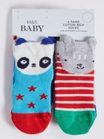 4'lü Pamuklu Bebek Çorap Seti(0 - 24 Ay)