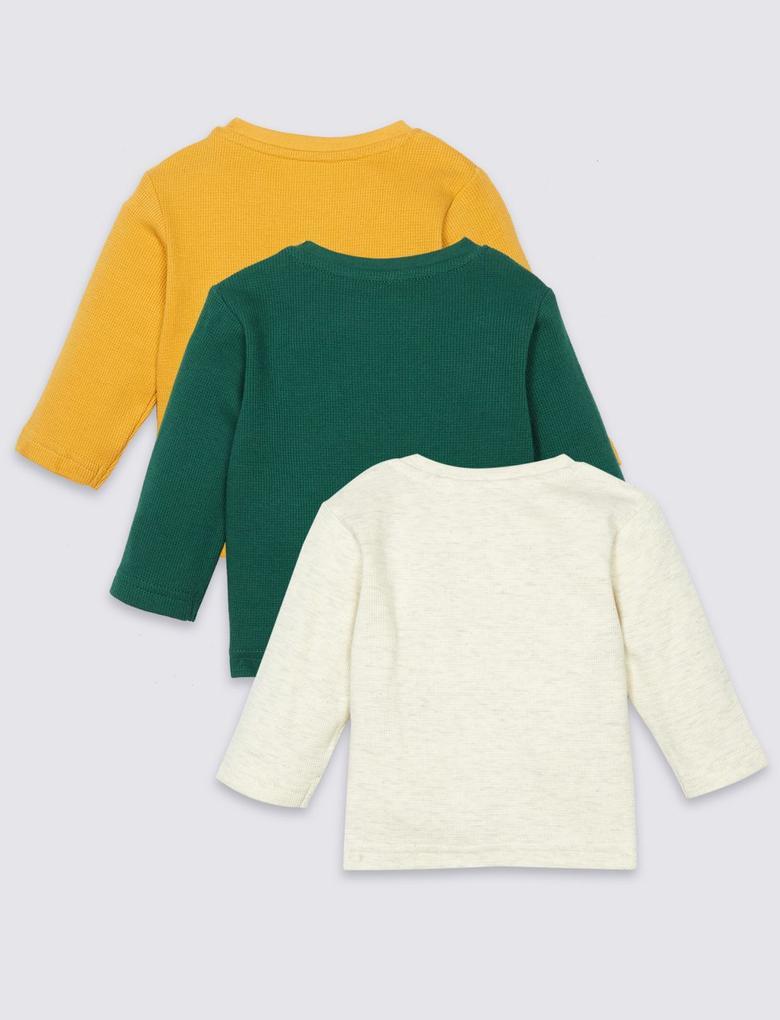 3'lü Uzun Kollu T-Shirtler