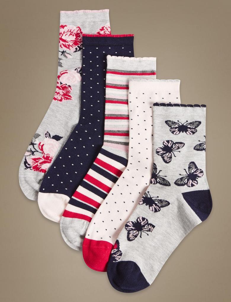 5'li Yumuşak Çorap