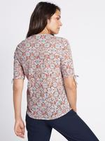 Pamuklu Desenli Bluz