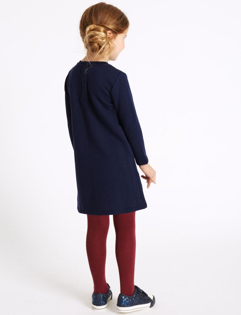 Pamuklu Elbise (3 Ay -2 Yaş)
