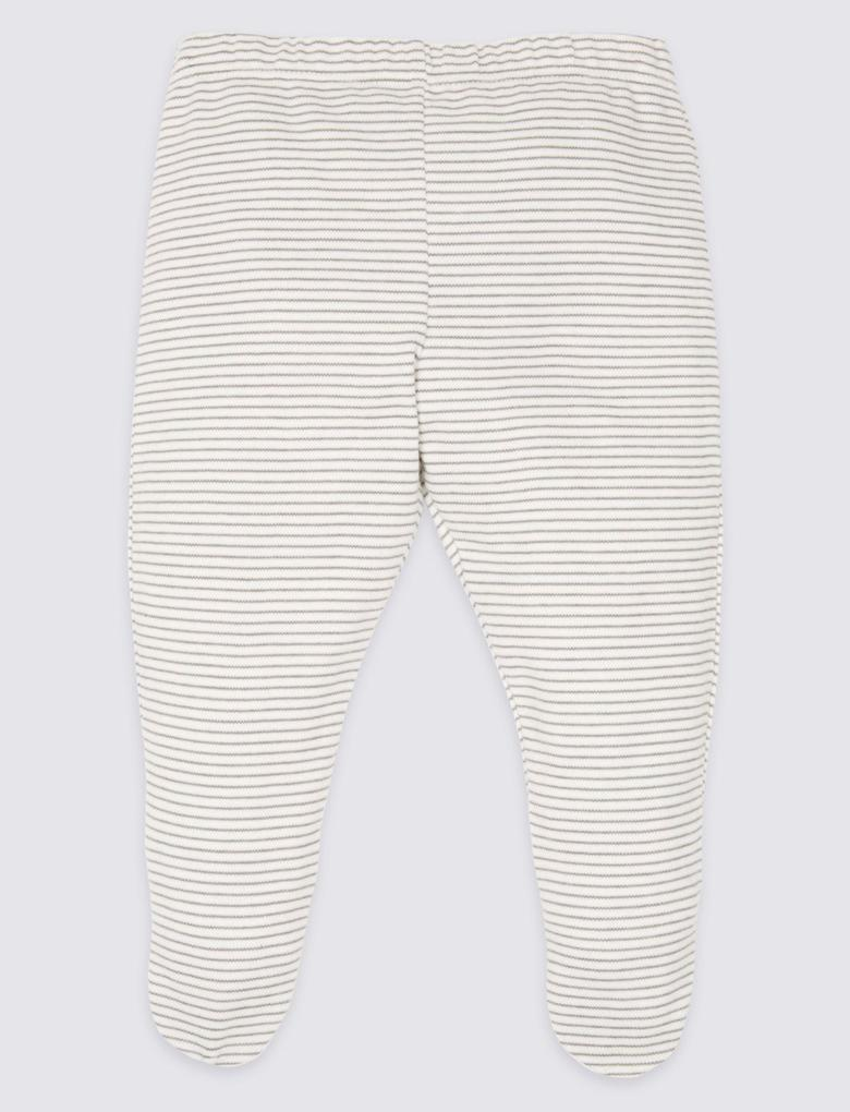Beyaz 8 Parça Saf Pamuklu Kıyafet Takımı