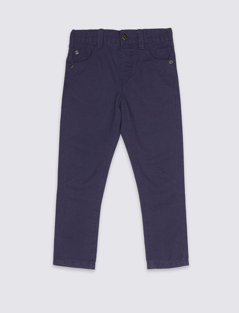 Saf Pamuklu Pantolon (3 Ay - 5 Yaş)