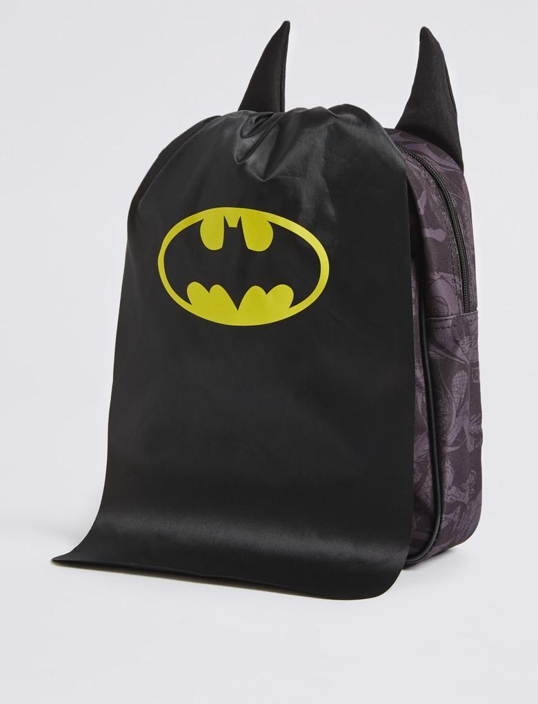 Siyah Çocuk Batman™ Sırt Çantası
