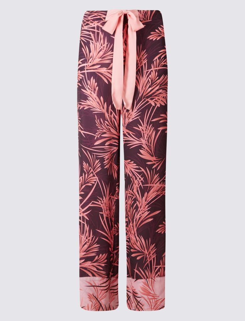 Desenli Uzun Pijama Altı