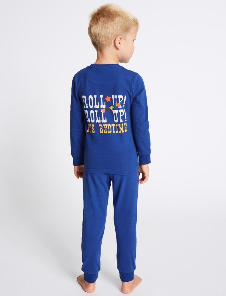 2'li Pamuklu Streç Pijama Takımı (9 Ay - 8 Yaş)