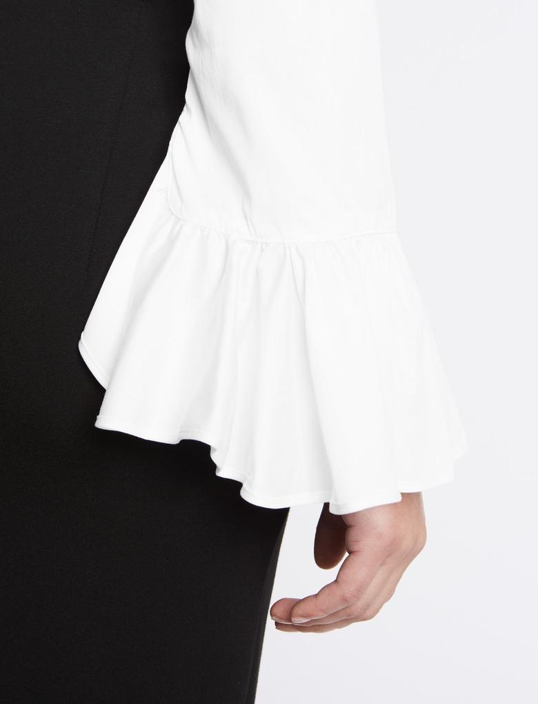 Beyaz Pamuklu Gömlek