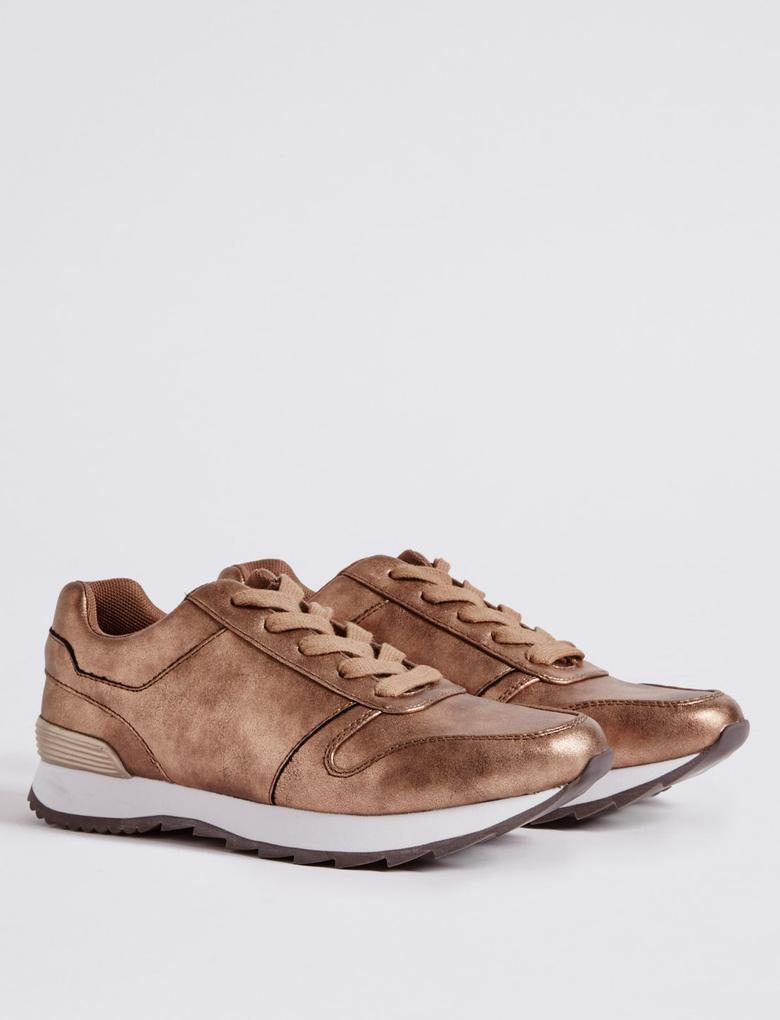 Bağcıklı Spor Ayakkabı