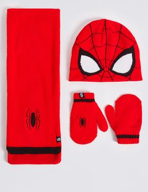 Spiderman™ Atkı, Bere ve Eldiven Seti