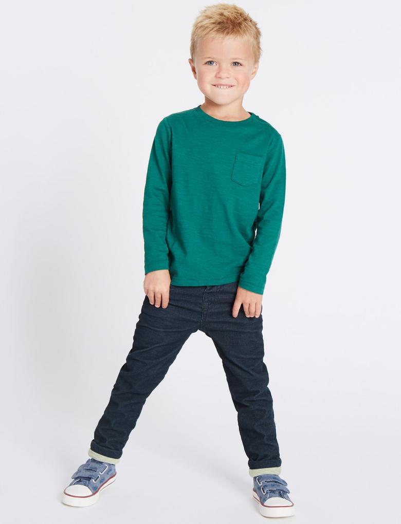 Lacivert Pamuklu Pantolon (3 Ay - 6 Yaş)