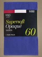 Lacivert 60 Denye Yumuşak Opak Külotlu Çorap