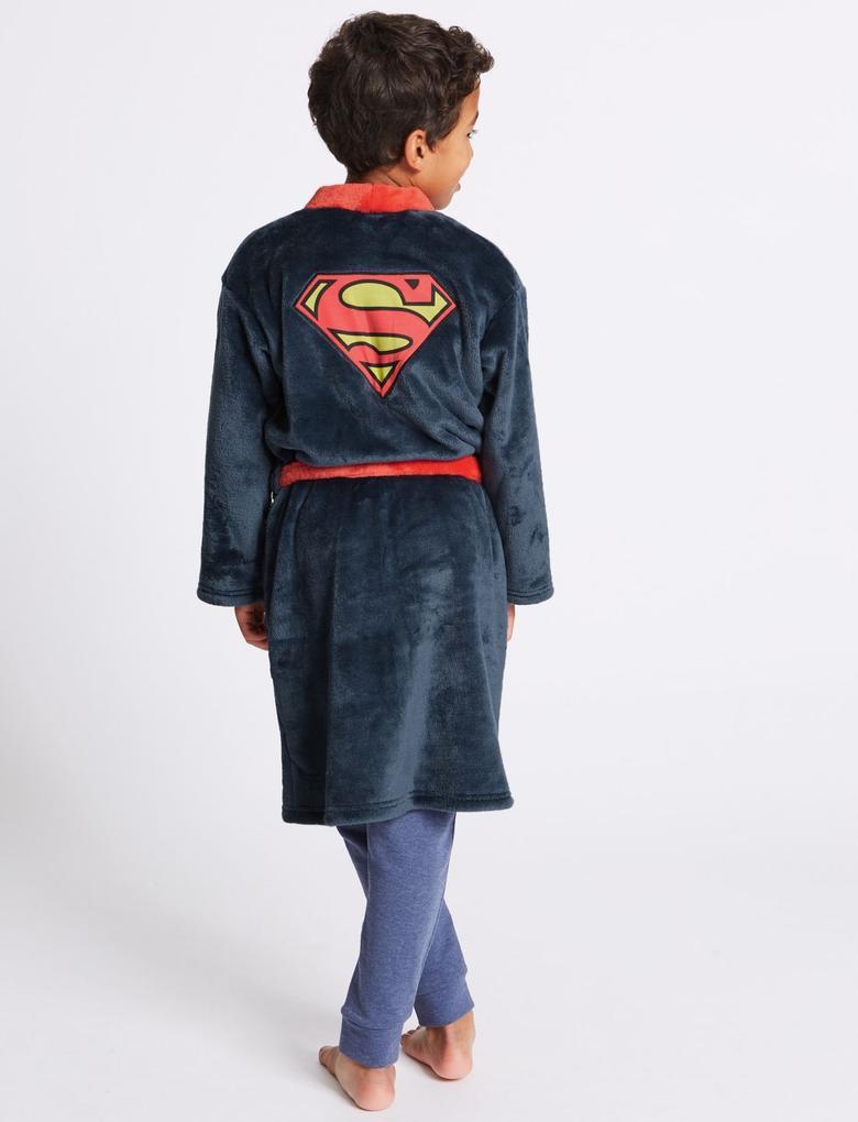 Superman Kemerli Sabahlık (4 - 16 Yaş)