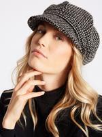 Siyah Desenli Şapka