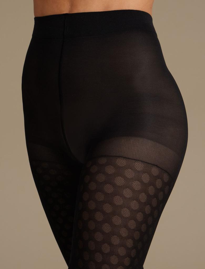 Secret Slimming™ Toparlayıcı Özellikli Opak Külotlu Çorap
