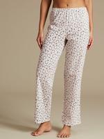 Saf Pamuklu Desenli Pijama Takıım (StayNEW™ Teknolojisi ile)