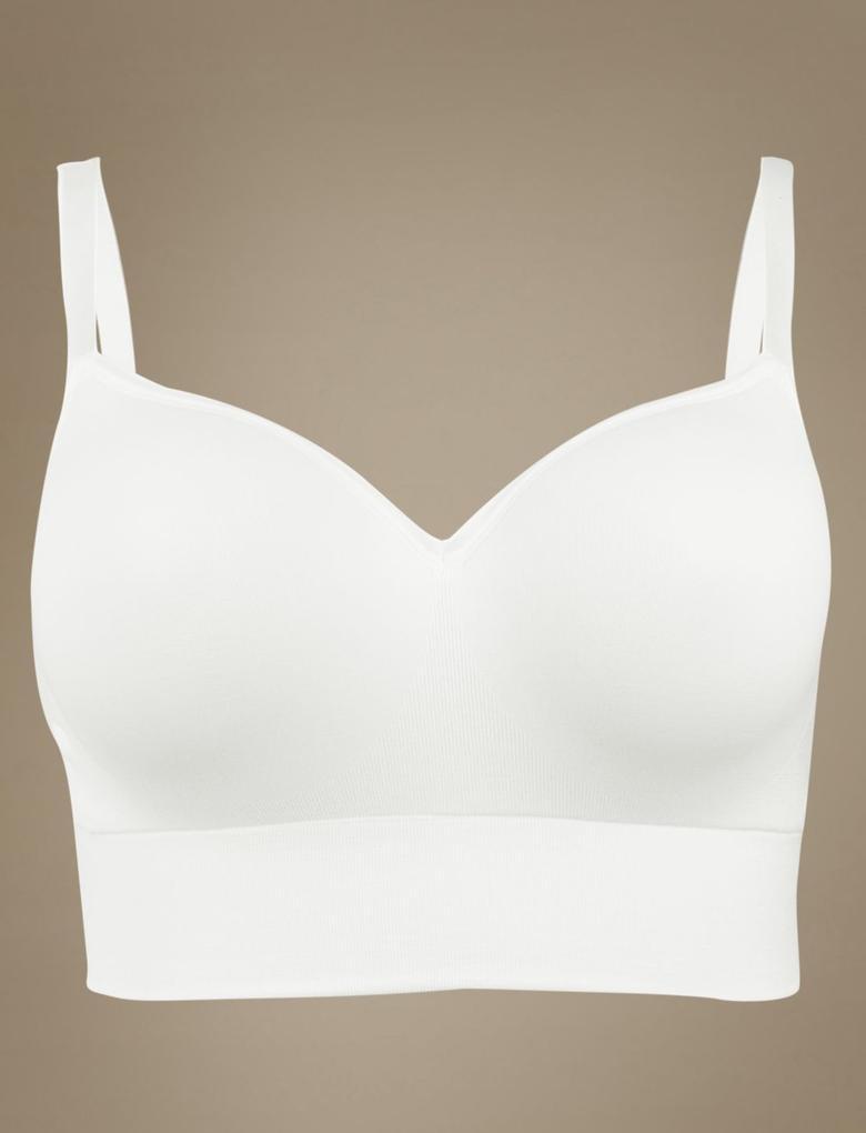 Modal Karışımlı Balensiz Full Cup T-Shirt Sütyeni A-E