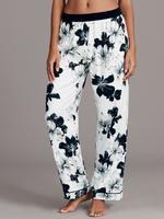 Çiçek Desenli Uzun Kollu Pijama Takımı