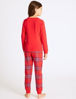 Ekose Pijama Takımı (3 - 16 Yaş)