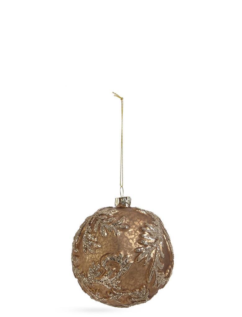 Barok Boncuklu Cam Çam Ağacı Süsü